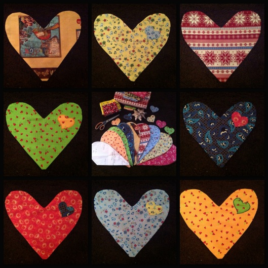 Weekend project - Heartpillows